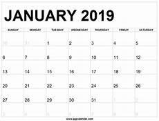 editable january 2019 calendar full page to print 2019 calendar calendar january