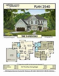 sims 2 house plans plan 2540 the sandusky house plans two story house