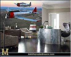 apartment design for pilot aviation airplane themed room boys living spaces