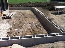Wie Schreibt Terrasse - passivhausblog 2 reihen schalsteine f 252 r die betonplatte