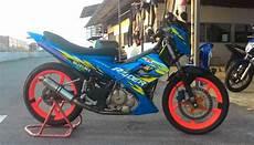 Modifikasi Motor Satria 2 Tak Road Race by Satria 2 Tak Modif