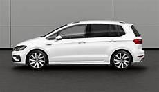 Golf 7 Sportsvan - volkswagen golf sportsvan r line unveiled with exterior
