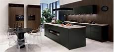 u küche modern moderne k 252 che havannaschwarz sherwood dunkelbraun