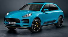 2019 Porsche Macan Facelift Arrives With Panamera Tech And