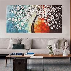 wall home decor unframed canvas prints white plum blossom paintings wall