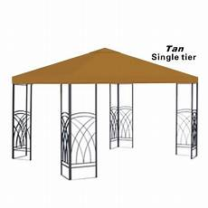 gazebo replacement cover 10x10 replacement canopy top patio pavilion gazebo