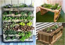 Pallet Gardens by Reusing Pallets For Garden Projects Pallet Ideas