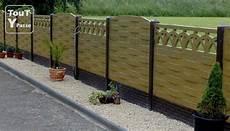 cloture dalle beton bois rouen 76000