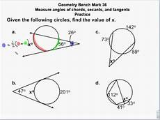 geometry circle worksheets 661 geometry circles chords secants tangents measures angles and arc lengths