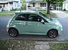 my new car fiat 500 sport i named miss mint fiat