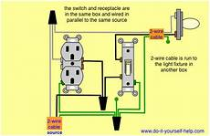 light switch and outlet in same box in 2020 light switch wiring wiring a plug home