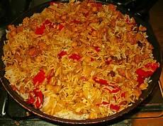 Curry Reis Pfanne - hackfleisch reis pfanne mit curry kichererbsen und