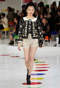 chanel in chanel goes to korea for its cruise runway show