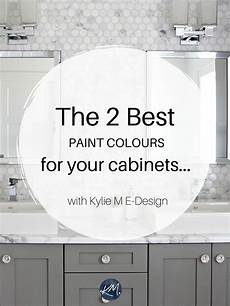 the best white and gray paint colors for kitchen cabinets or bathroom vanity benjamin or