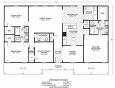 ponderosa ranch house floor plan ponderosa b floor plans southwest homes