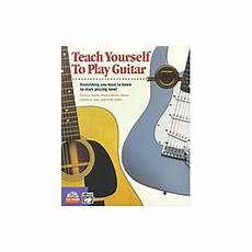 teach me how to play guitar alfred s teach yourself to play guitar at tigerdirect