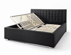 Doppelbett Mit Lattenrost - polsterbett 180x200 cm mit lattenrost und bettkasten pattani