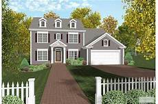 Colonial House Into Style Home