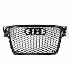honeycomb sport rs4 style hex grille grill black for 09 12 audi a4 s4 b8 8t ebay