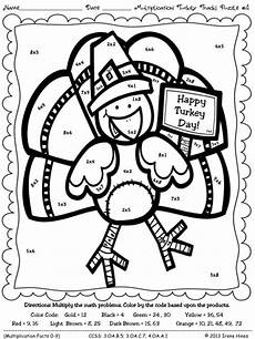 thanksgiving multiplication coloring worksheets grade 3 4760 17 best images about activities coloring pages on equation maths puzzles and december