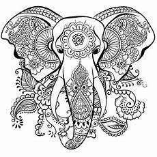 ausmalbilder f 252 r erwachsene elefant gratis ausmalbilder