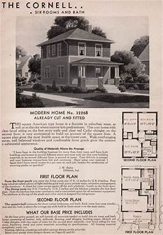 sears kit house plans sears kit homes 1936 cornell american foursquare house