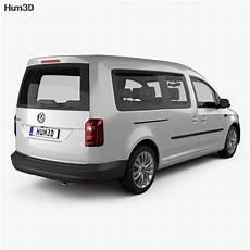 volkswagen caddy maxi trendline 2015 3d model vehicles