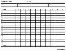 5 attendance register templates excel xlts