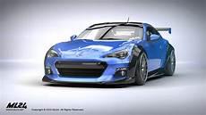 subaru brz bodykit ml24 automotive design prototyping and kits