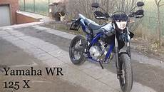 yamaha wr 125 x walk around 2015 black blue