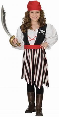 piratin pirat kleid weste rock kinder karneval fasching