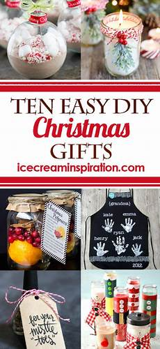 10 easy diy gifts and inspiration