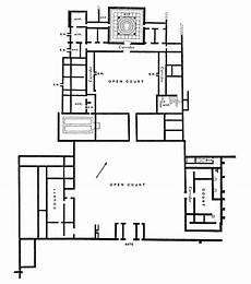 roman villa house plans plan of woodchester roman villa roman villa roman