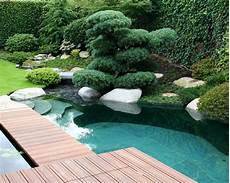 Terrassengestaltung Mit Wasser - teich schwimmteich pool gartengestaltung