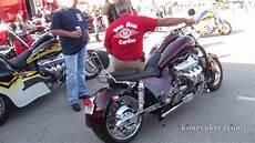 Hoss V8 Motorcycle