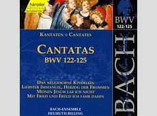 complete bach cantatas list