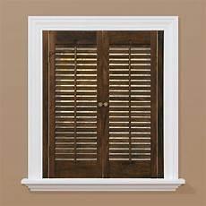 Fenster Rolladen Innen - homebasics traditional real wood walnut interior shutter