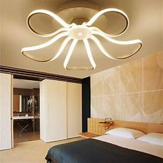 Distorted Rings Modern Led Ceiling Lights Remote