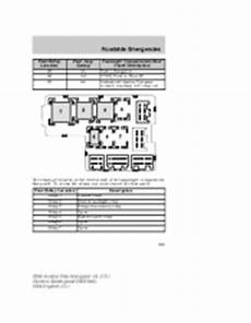 service repair manual free download 2004 lincoln aviator seat position control 2004 lincoln aviator owner s manual page 250