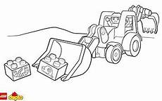 lego 174 duplo 174 backhoe loader coloring page lego duplo