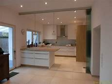 raumteiler küche wohnzimmer k 252 chen glas trennwand glas scholl www glas scholl de