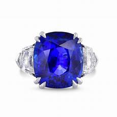 sri lanka no heat royal blue sapphire diamond ring in