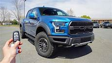 2019 ford raptor performance blue 2019 ford f 150 raptor start up exhaust test drive and