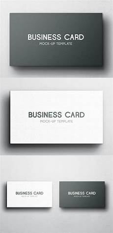 4 up business card template free business card mockup vol 4 free stuff projetos