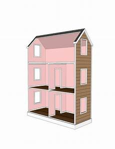 ag doll house plans doll house plans for american girl or 18 inch by