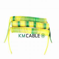 10 ft yellow green earth wire protective ground cable
