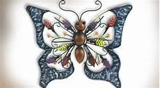 Decoration Murale Papillon Metal Design En Image