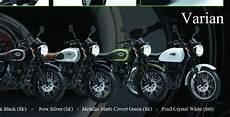 Modifikasi W175 Se by Foto 4 Pilihan Warna Kawasaki W175 Yang Silver Paling