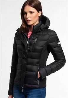 superdry fuji veste mi saison black veste femme zalando