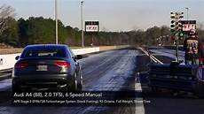 apr stage 3 b8 a4 quarter mile youtube